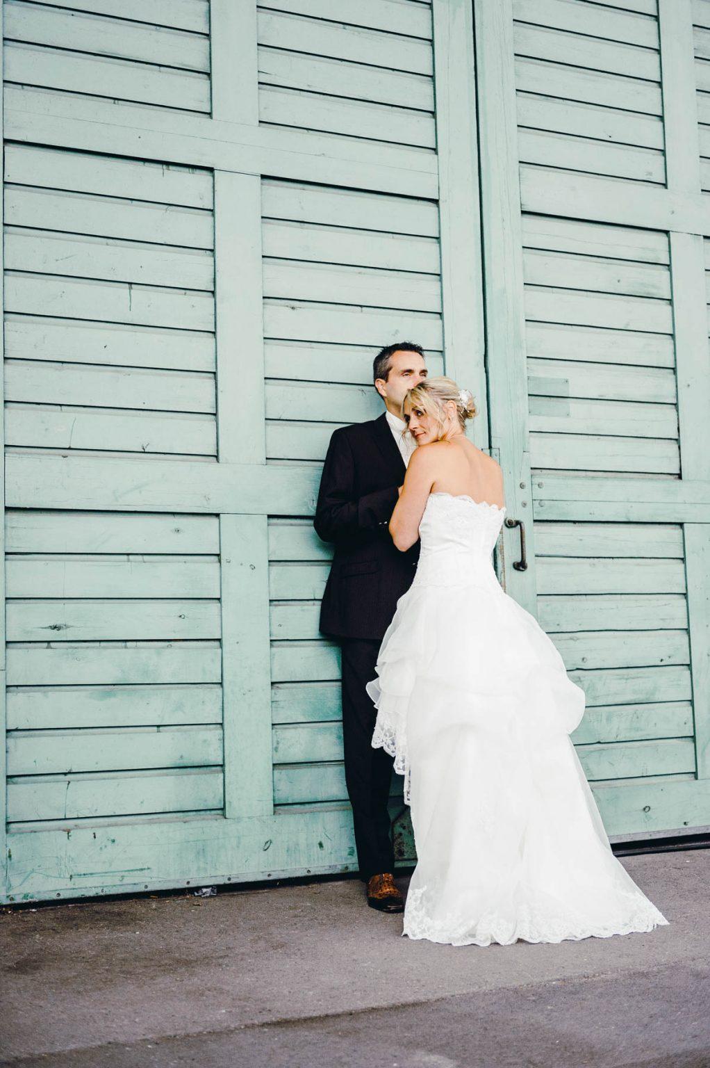 Hochzeitsportrait im Hafen