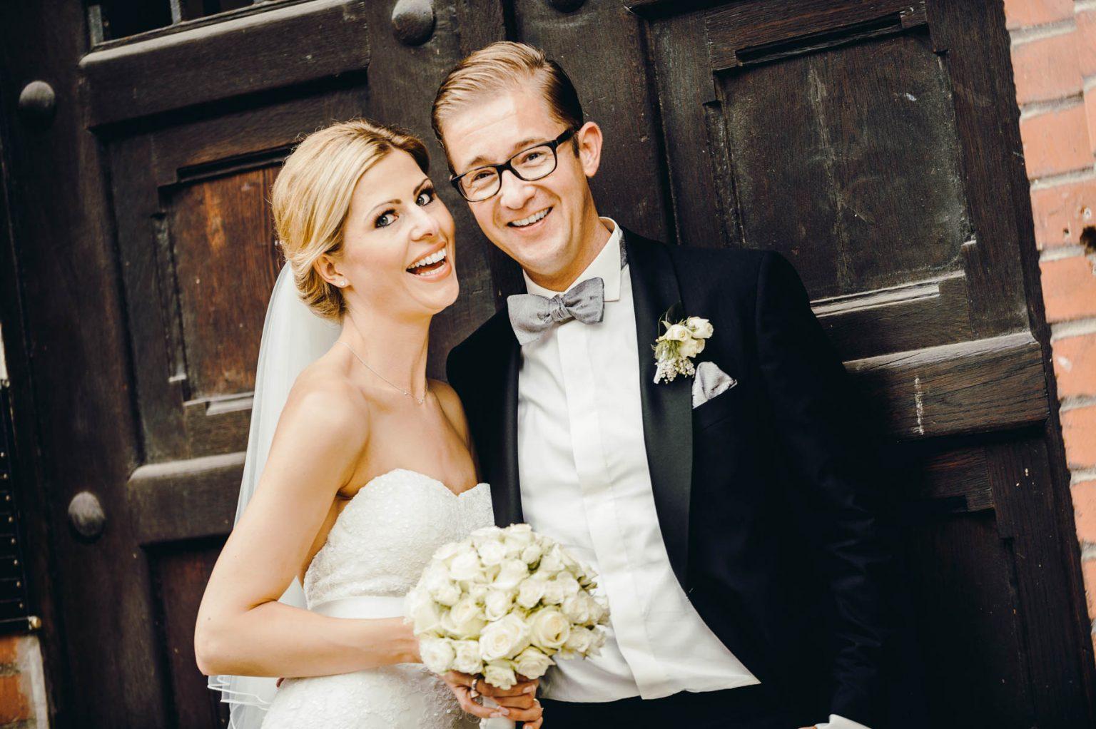 Hochzeitsportrait Closeup
