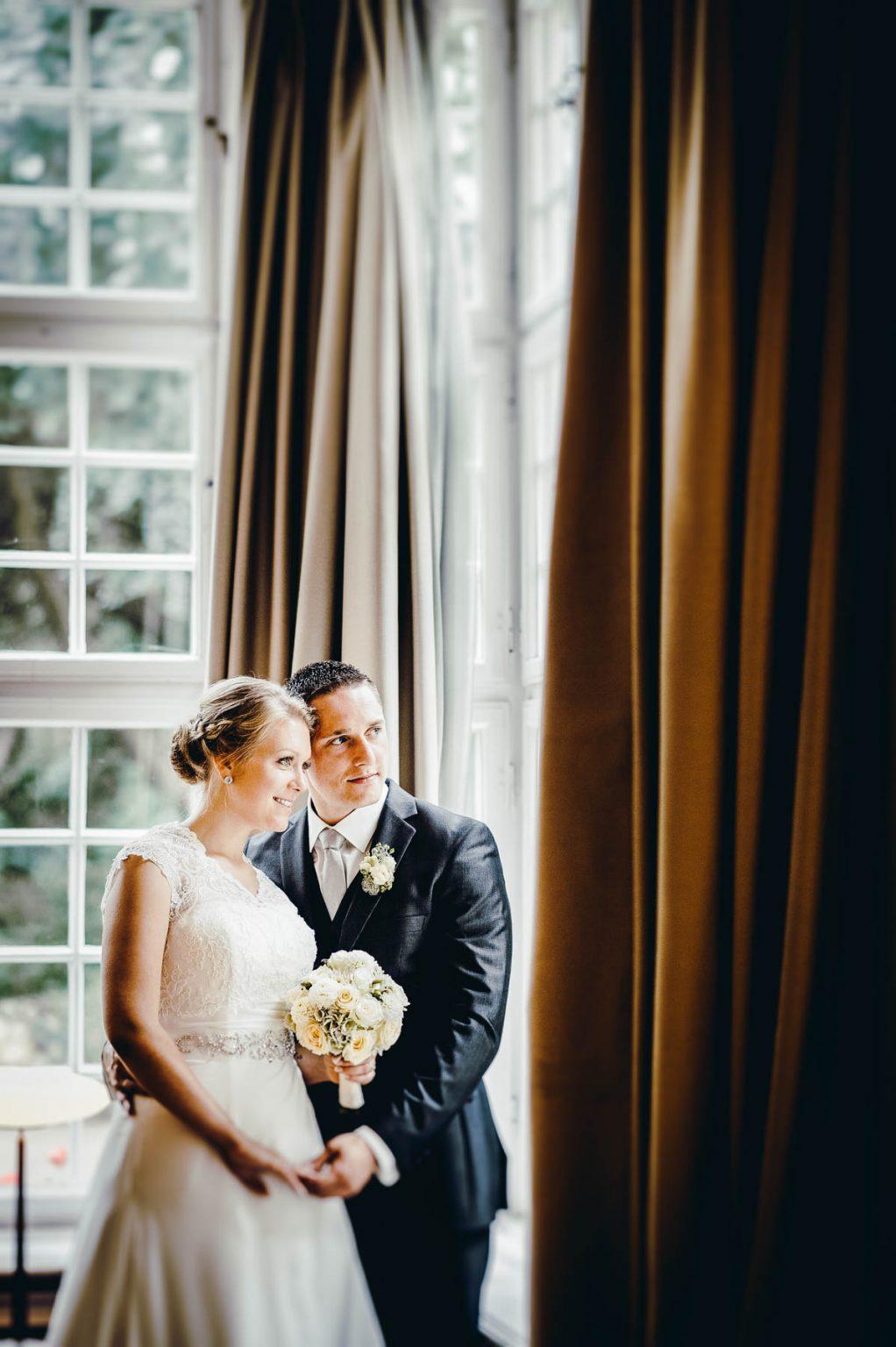 Hochzeitsportrait in Villa