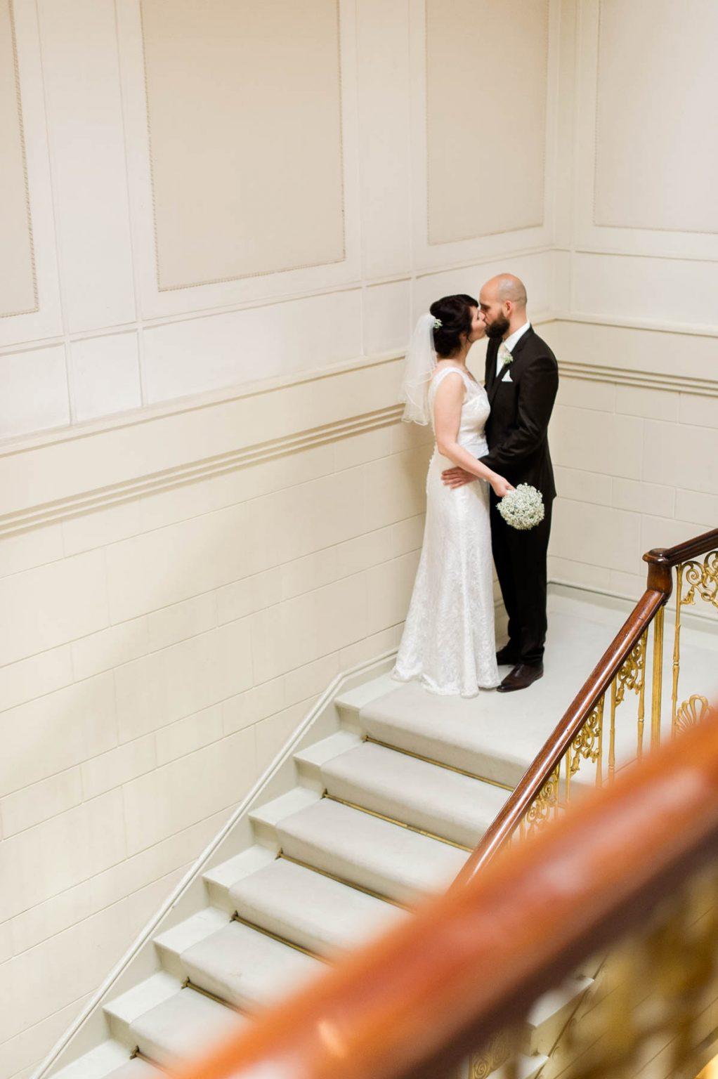 Hochzeitsportrait im Jenischhaus