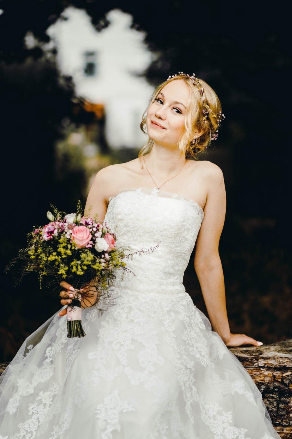 Hochzeitsportrait Braut